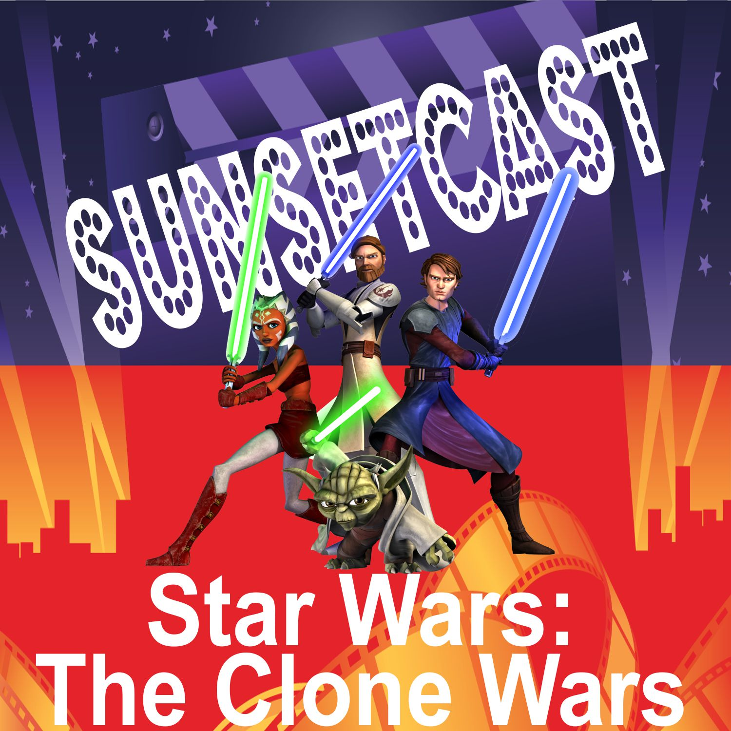 SunsetCast - Star Wars - The Clone Wars (Toons)