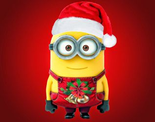 Minions Singing Jingle Bell Merry Christmas (2014)