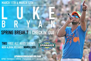Luke Bryan Spring Break Spinnaker Beach Club (2015)