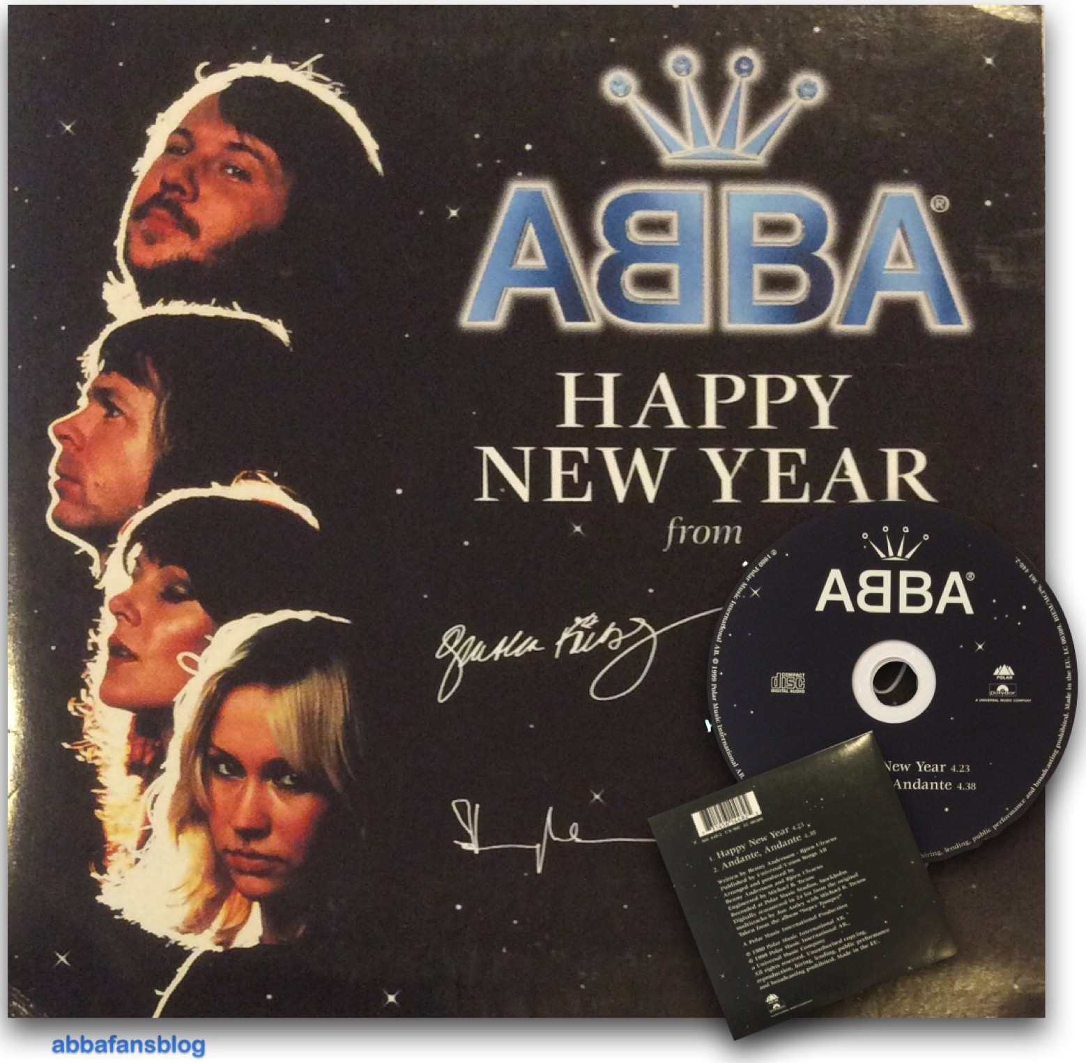 Abba  Happy New Year (2016)