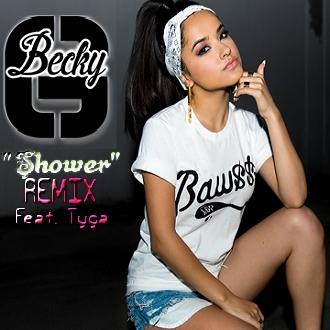 Becky G - Shower (1080p)