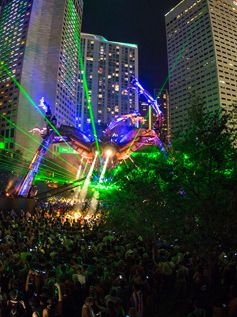 Ultra Music Festival Miami 2017 Day 2 Resistance Arcadia Landing Show (2017)