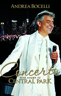 Andrea Bocelli Live in Central Park (2011)