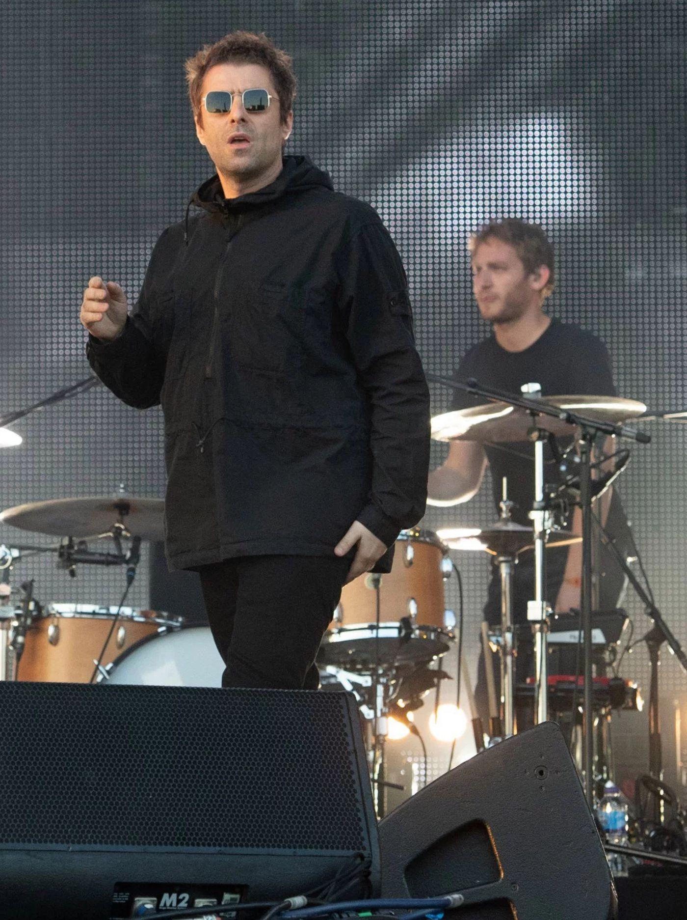 Liam Gallagher Trnsmt Glasgow Scotland
