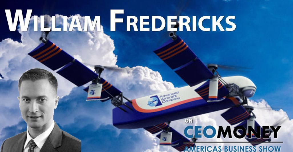 William Fredericks Founder & CEO Advanced Aircraft Company (2018)