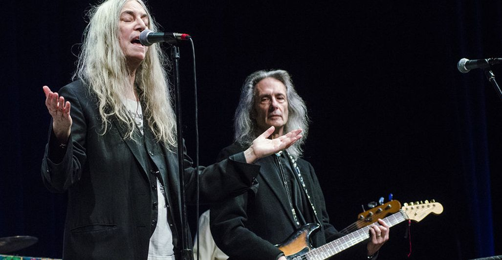 Patti Smith Mountain Stage Charleston (2018)