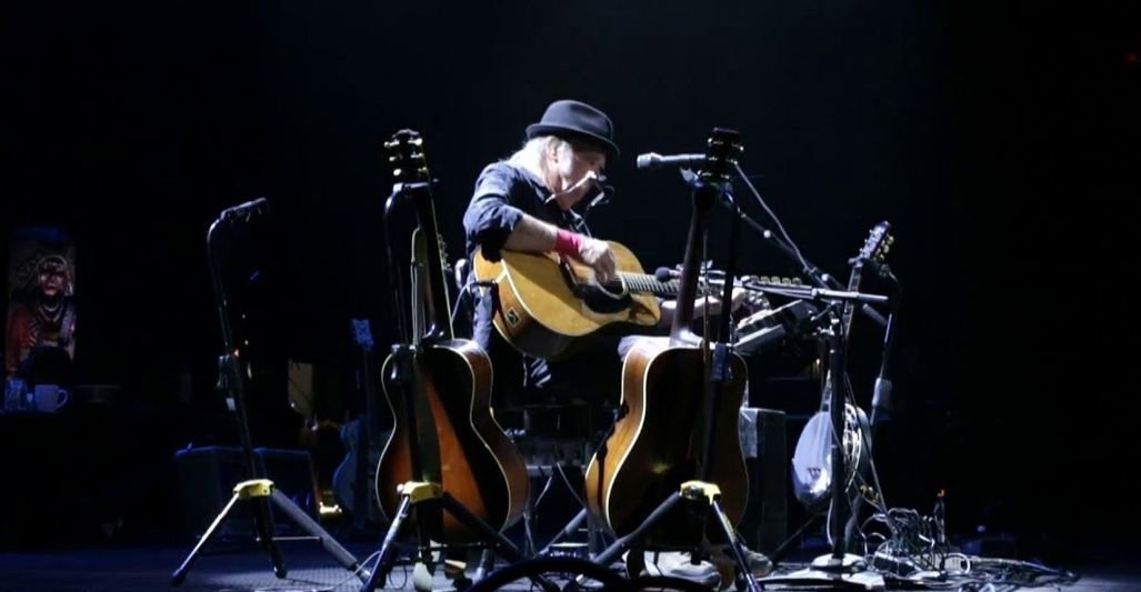 Neil Young Fox Theatre Detroit Michigan (2018)